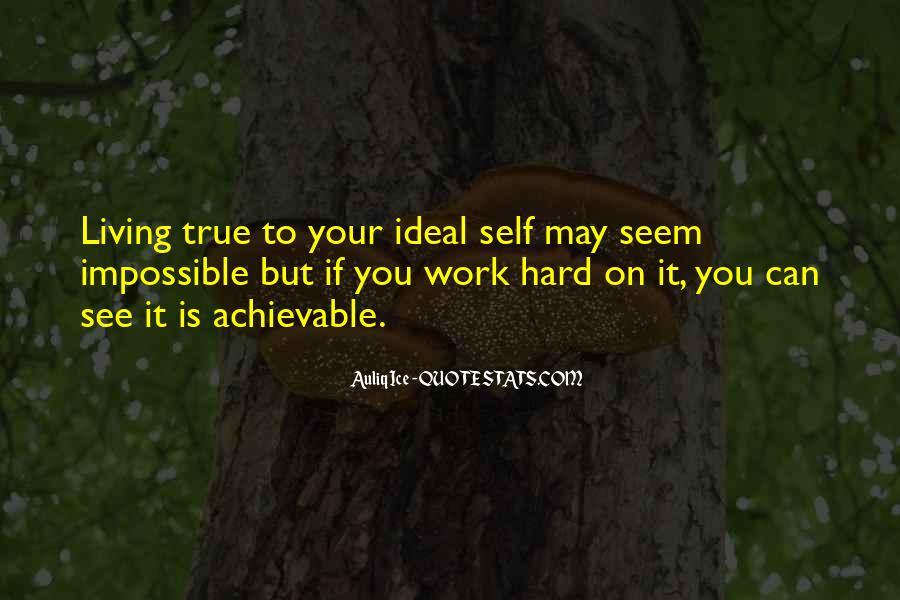 True Achievement Quotes #1594417