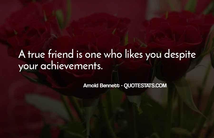 True Achievement Quotes #198044