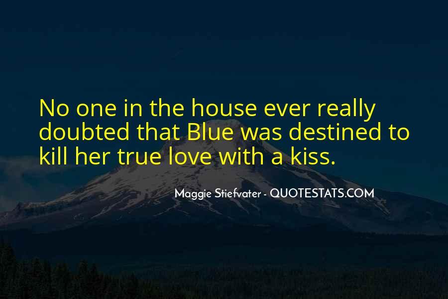 True Blue Love Quotes #44909