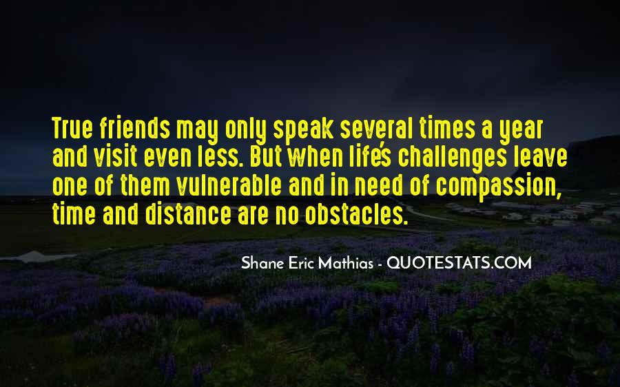 True Distance Friendship Quotes #119491
