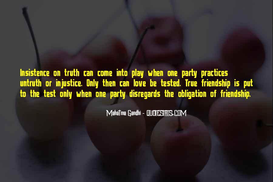 True Friendship Test Quotes #587890