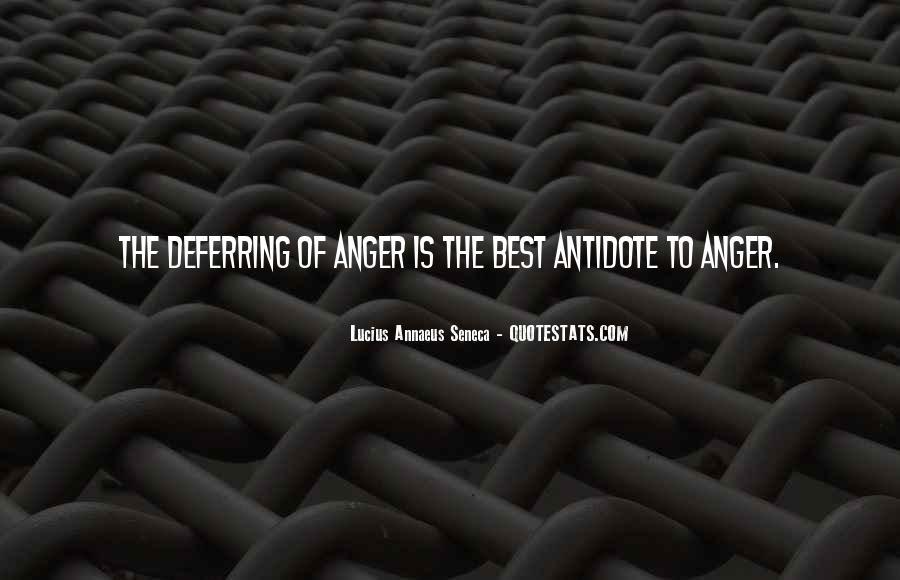 Quotes About Annaeus #1035057