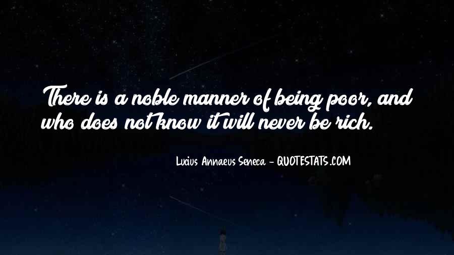 Quotes About Annaeus #1066947