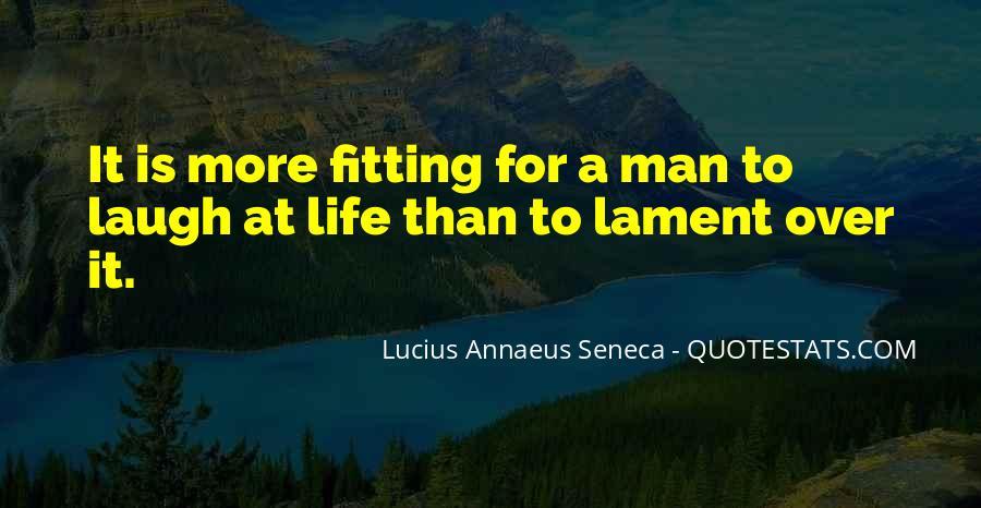 Quotes About Annaeus #108872