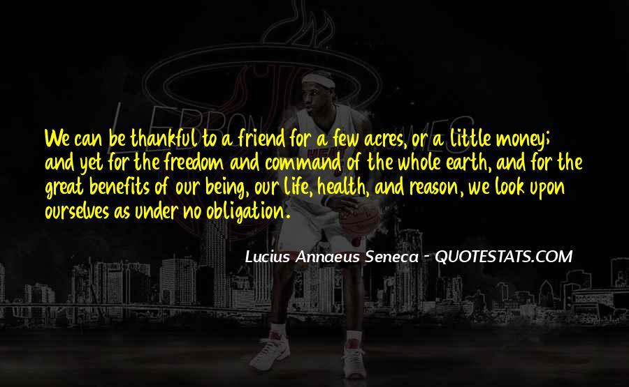 Quotes About Annaeus #1116956