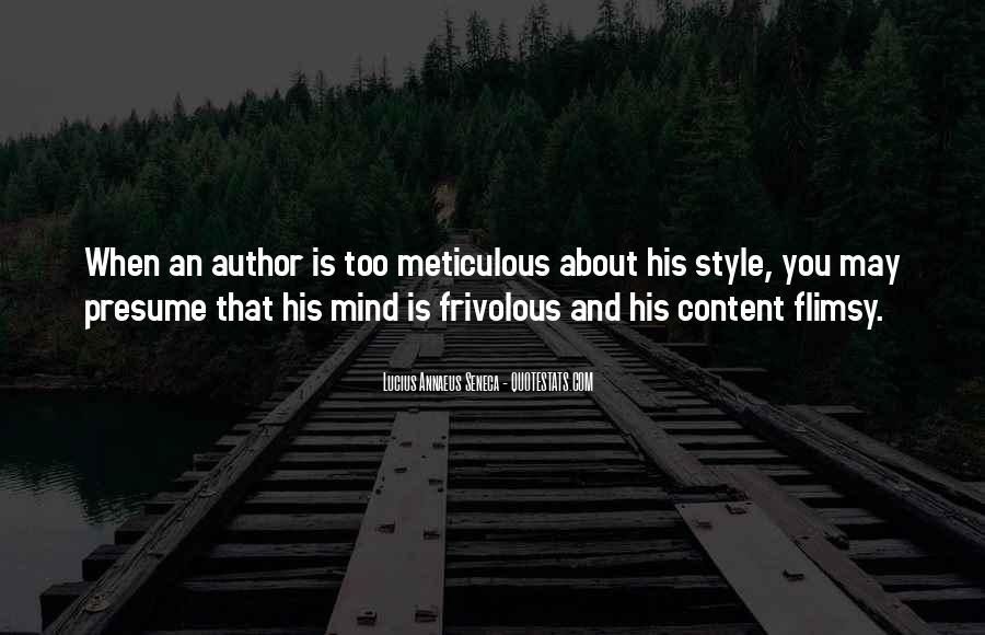Quotes About Annaeus #1143279