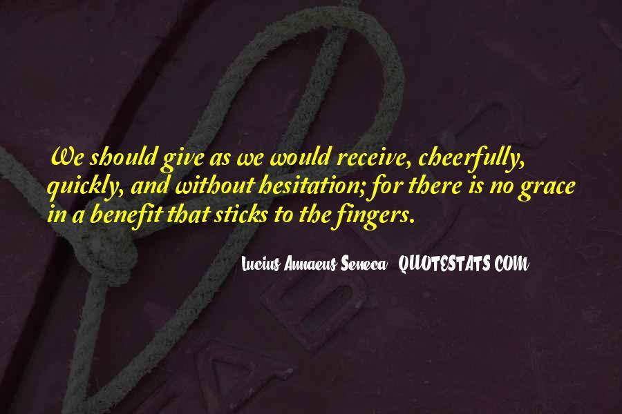 Quotes About Annaeus #1197296