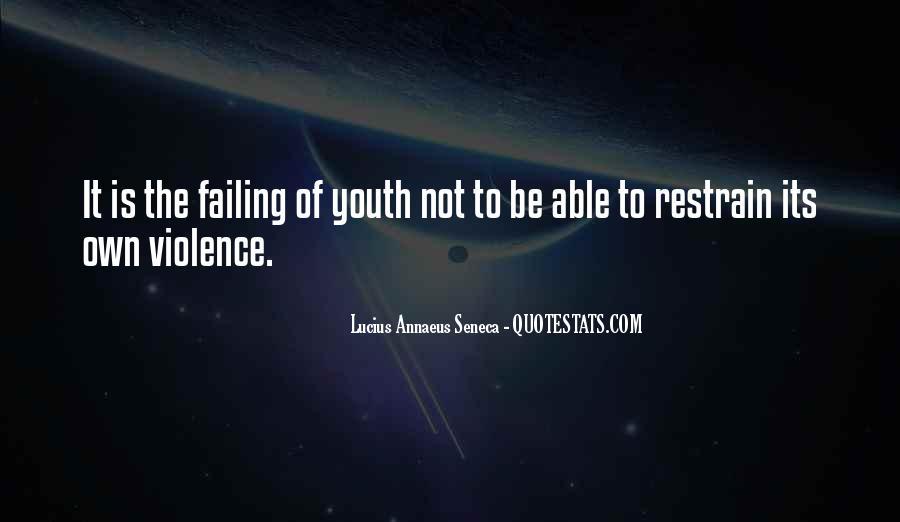 Quotes About Annaeus #120657
