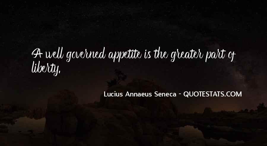 Quotes About Annaeus #1234893
