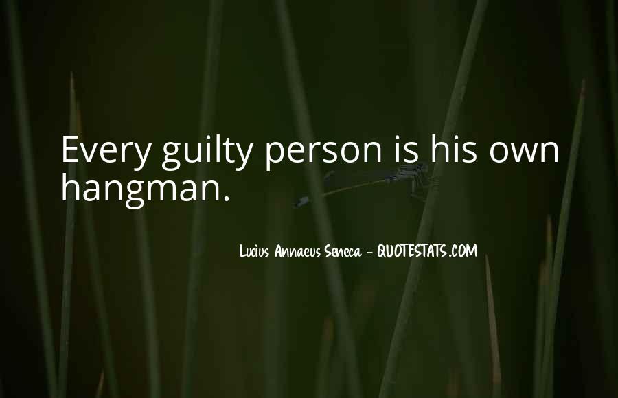 Quotes About Annaeus #1250085