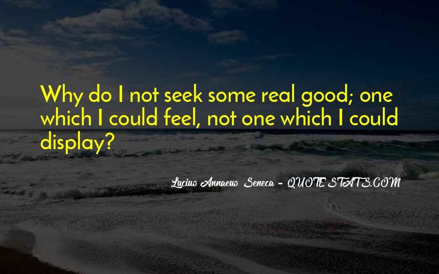Quotes About Annaeus #172378
