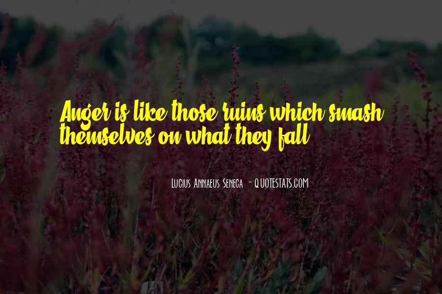 Quotes About Annaeus #176412