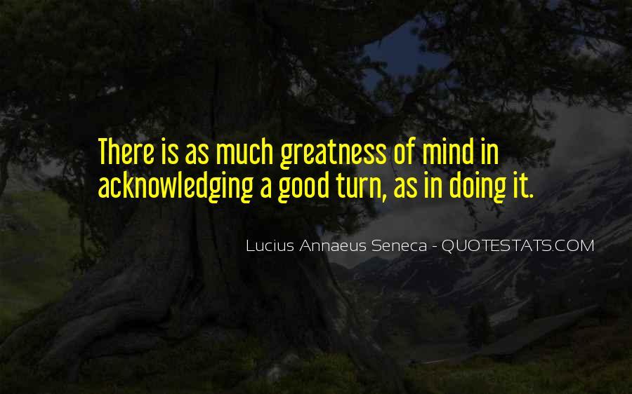Quotes About Annaeus #27570