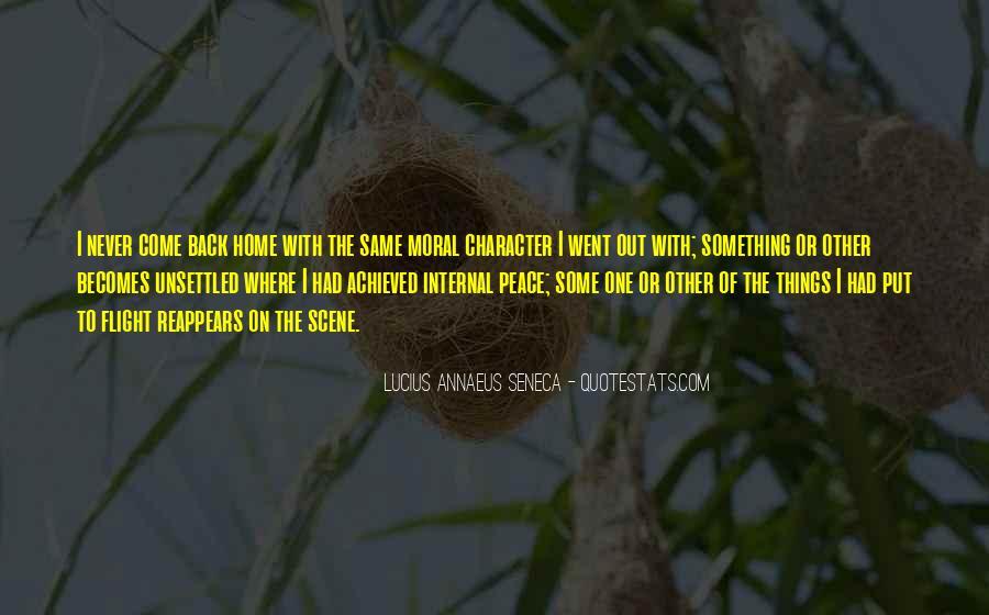 Quotes About Annaeus #326980