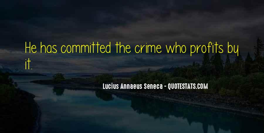 Quotes About Annaeus #36574