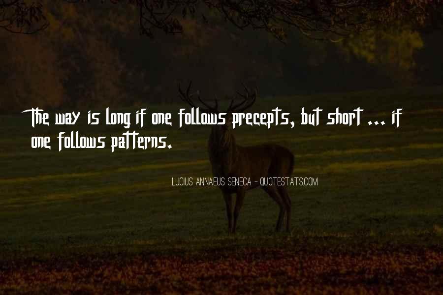 Quotes About Annaeus #42137