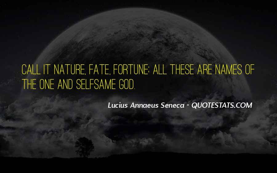 Quotes About Annaeus #459188