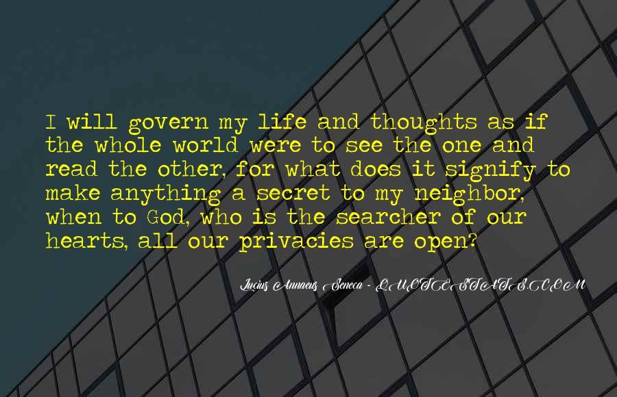 Quotes About Annaeus #465996