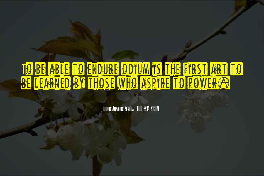 Quotes About Annaeus #514354