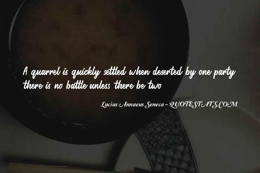 Quotes About Annaeus #60339