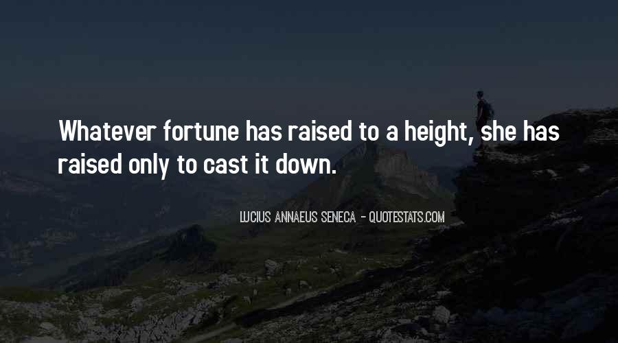 Quotes About Annaeus #613181