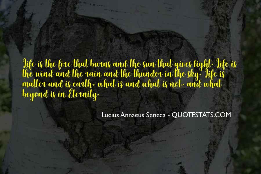Quotes About Annaeus #631130