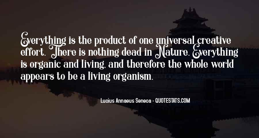 Quotes About Annaeus #633593