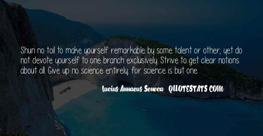 Quotes About Annaeus #718283