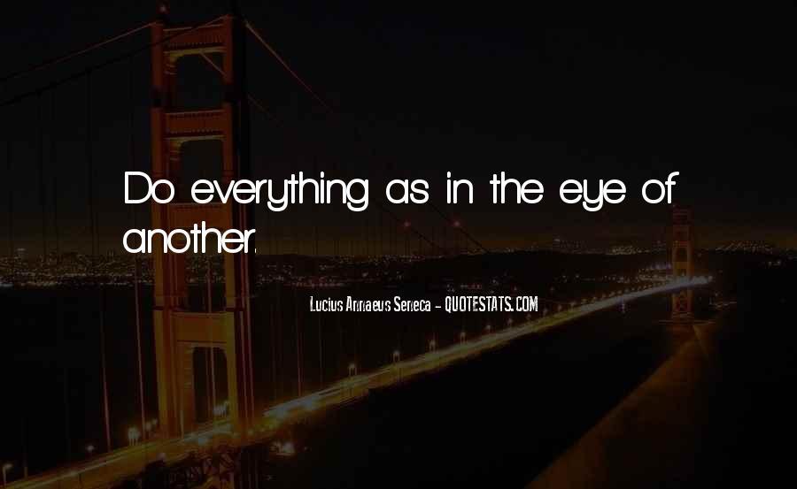 Quotes About Annaeus #776369