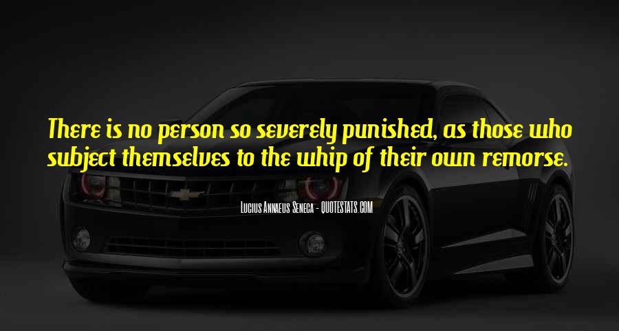 Quotes About Annaeus #850594