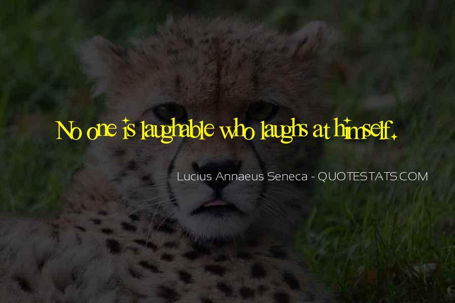 Quotes About Annaeus #905038