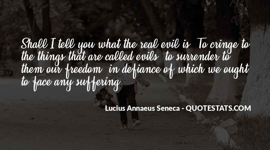 Quotes About Annaeus #935149