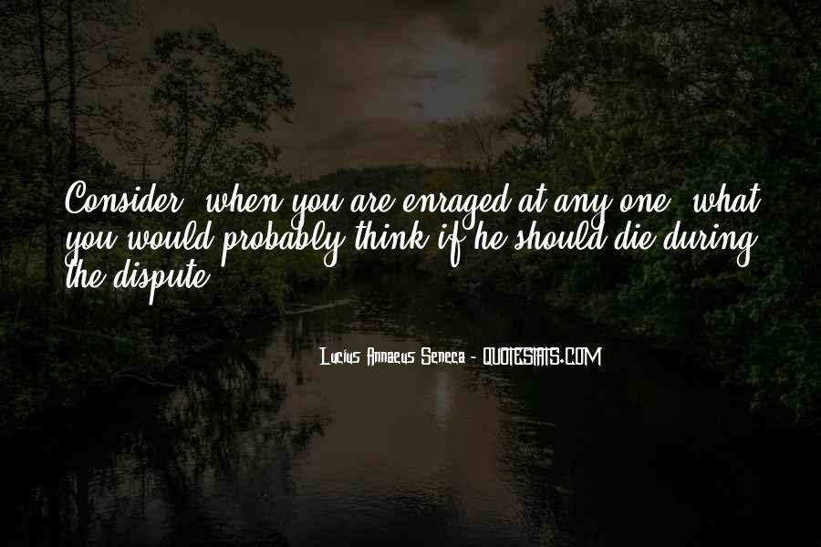 Quotes About Annaeus #943917