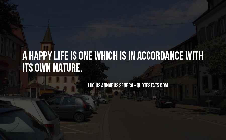 Quotes About Annaeus #974231