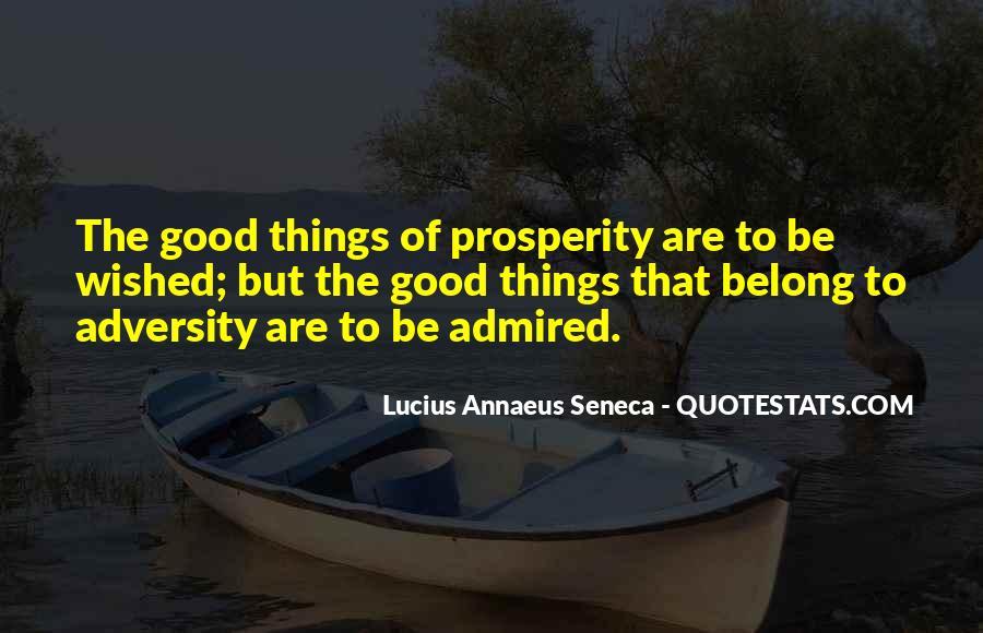 Quotes About Annaeus #98626