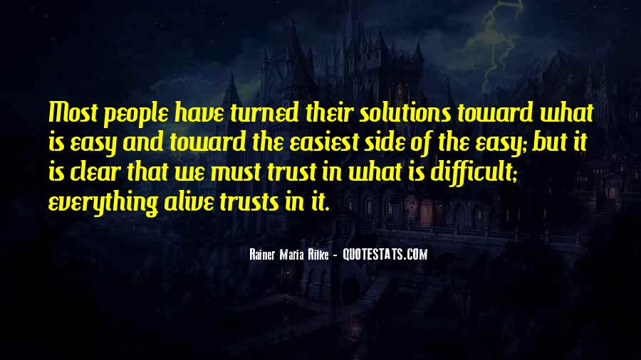 Trust And Inspirational Quotes #198447