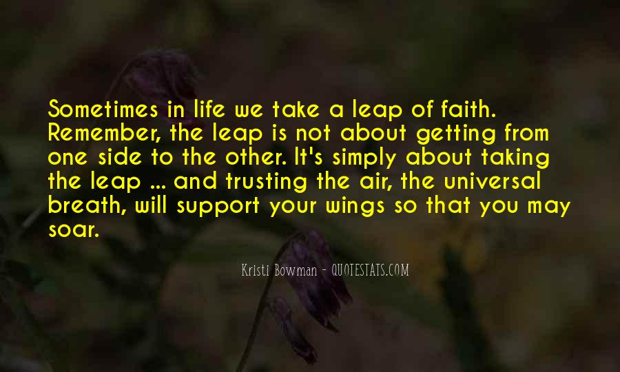 Trust And Inspirational Quotes #320881