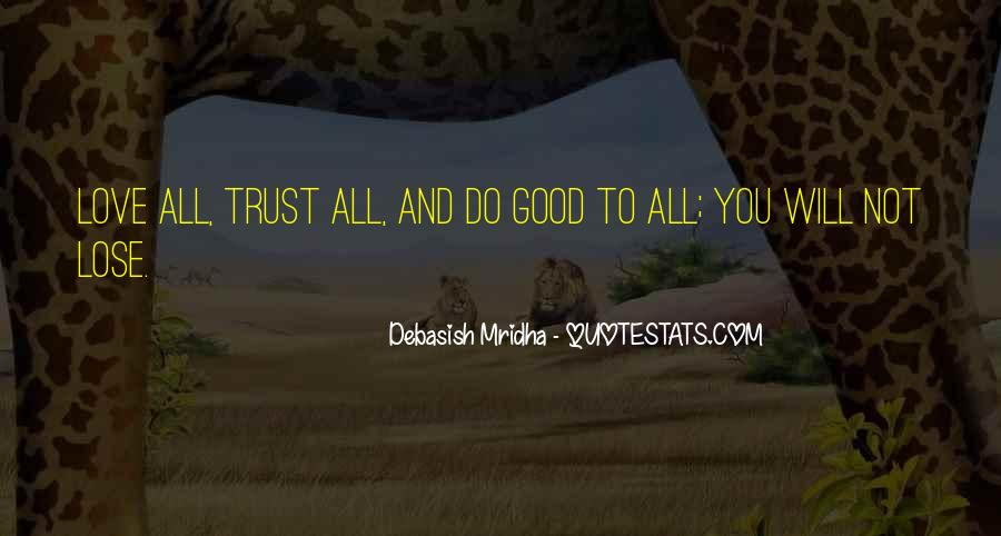 Trust And Inspirational Quotes #378209