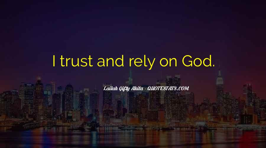 Trust And Inspirational Quotes #477755