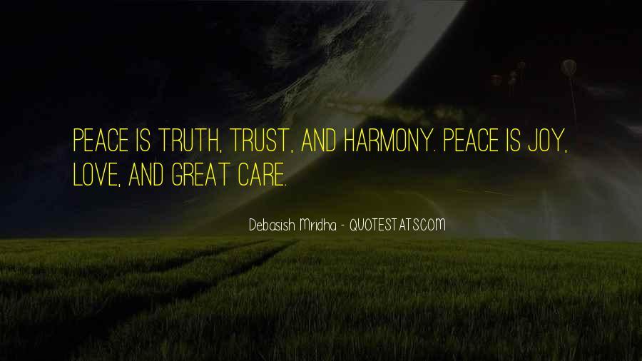 Trust Care Love Quotes #1136713