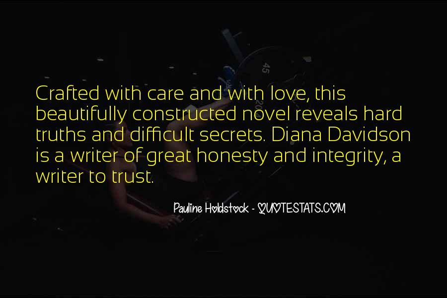 Trust Care Love Quotes #1401271