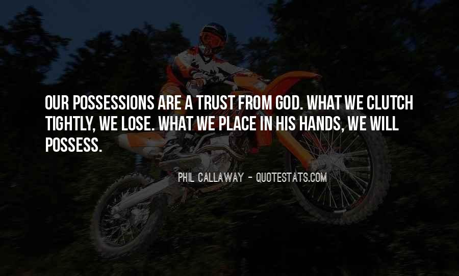 Trust No One But God Quotes #25904