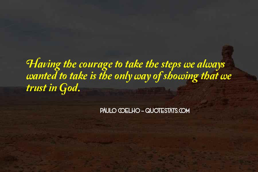 Trust No One But God Quotes #31037