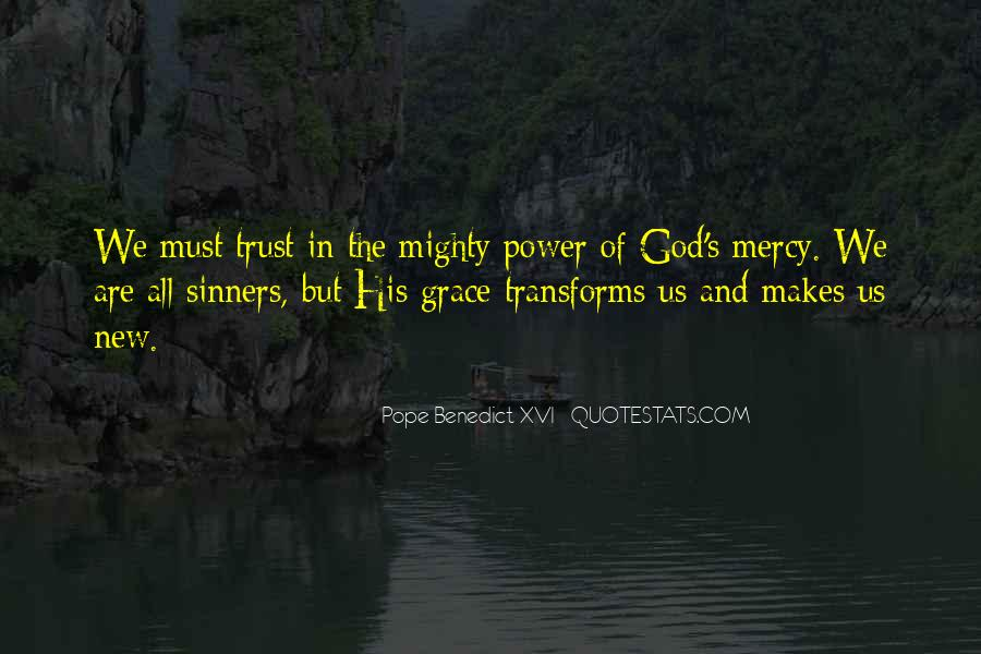Trust No One But God Quotes #37319