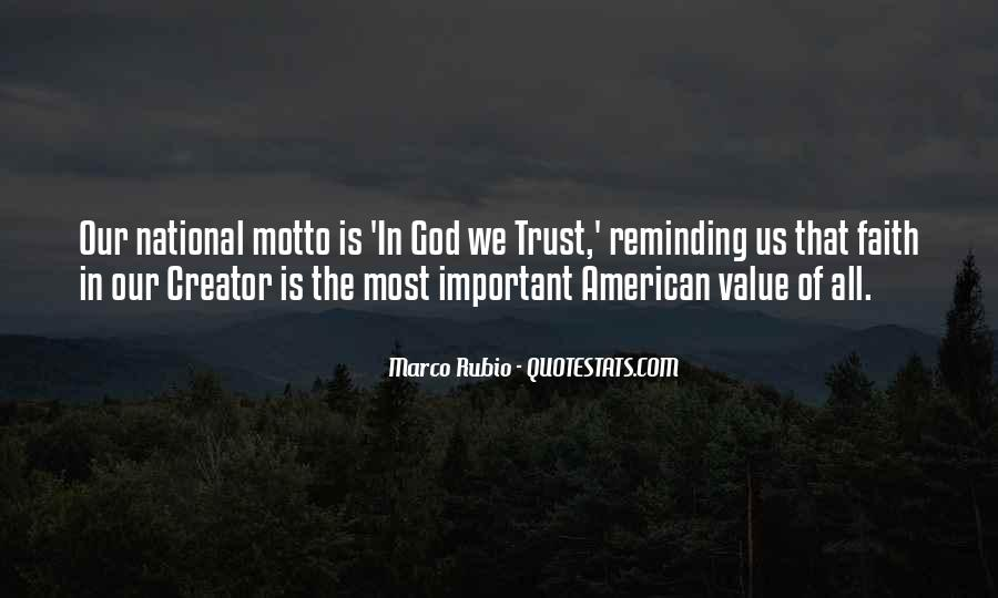 Trust No One But God Quotes #41562