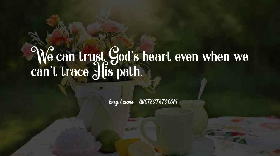 Trust No One But God Quotes #4748