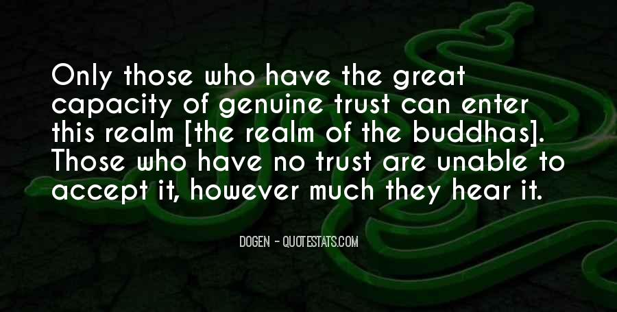 Trust Only Those Who Quotes #1701650