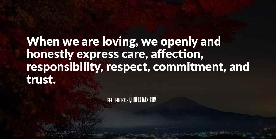 Trust Respect And Love Quotes #1537114