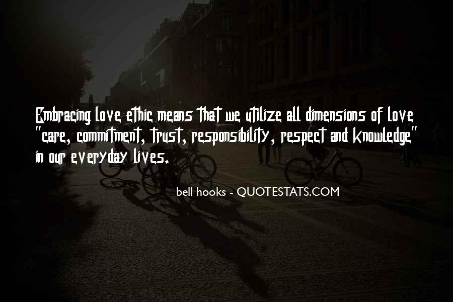 Trust Respect And Love Quotes #397030