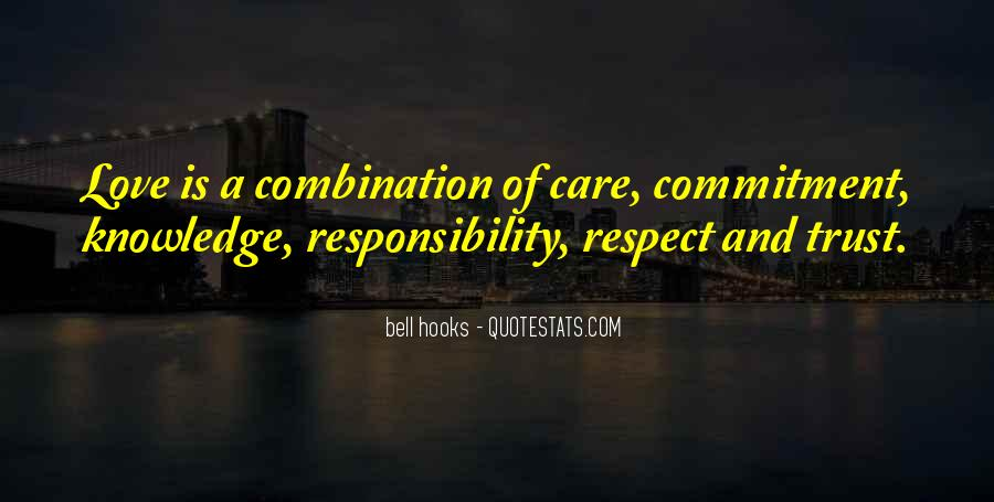 Trust Respect And Love Quotes #727993